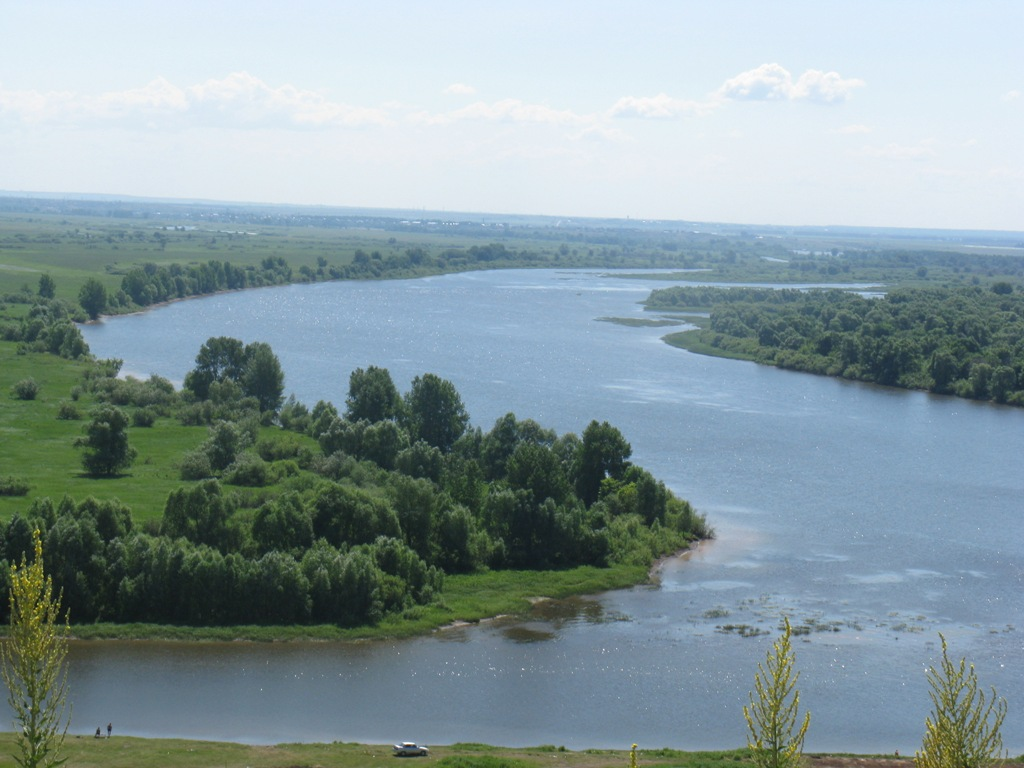 Откуда берутся большие реки